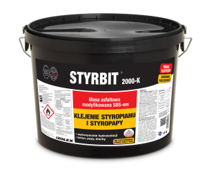 Styrbit 2000-K | klej do styropapy, XPS i EPS  | 20 kg